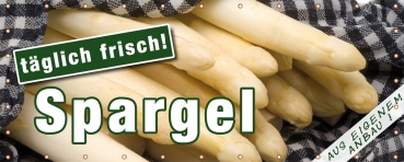 Rollbanner Spargel 2
